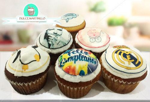 Caja de Cupcakes Personalizados con Impresión + Envío