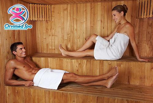 Spa en Pareja Relajación Ideal con Sauna en Galerias
