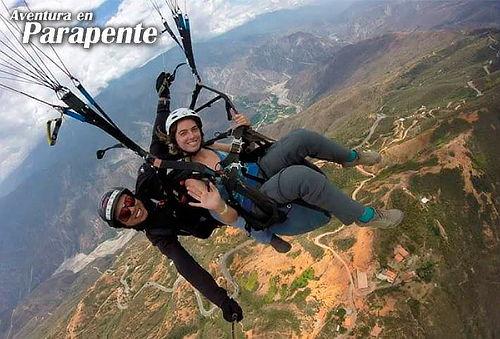 Parapente para 1o 2 en Cañón de Chicamocha + Video