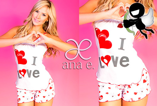 OUTLET - Pijamas Anae Love