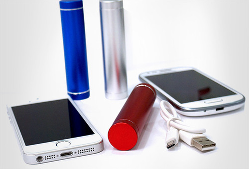 OUTLET - Power Bank Cuponatic Lipstick 2800 Mah Azul