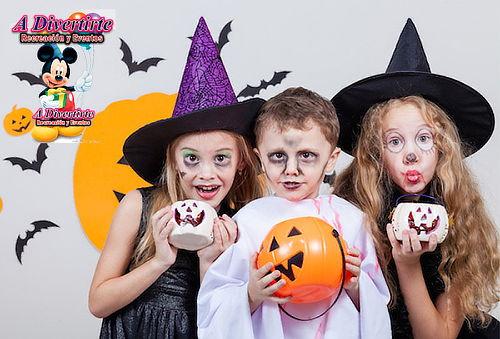 Super Fiesta Hallowen de 20 Niños a Domicilio