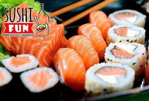 2 Rollos de Sushi a Elección en Envigado