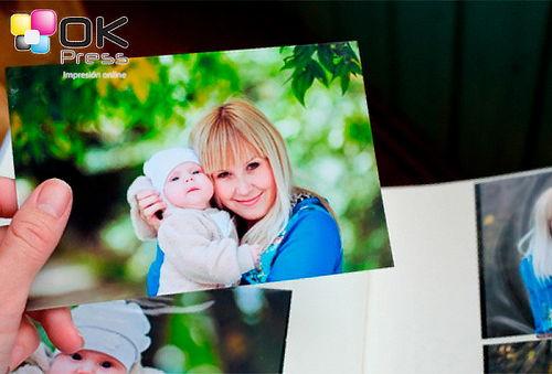 Impresión de 100 Fotografías Papel Fotográfico 135 gr