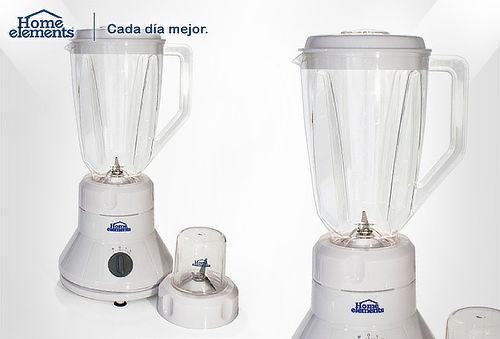 Licuadora Home Elements 2 Velocidades + Pulso & Picatodo