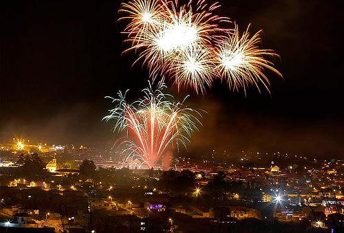 Festival de luces en Villa de Leyva