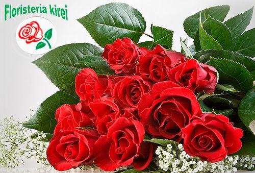 Bouquet de 12 Rosas Rojas Domicilio