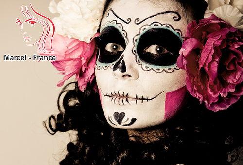 Maquillaje Halloween para Adultos y Niños
