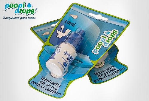 2 o 4 Poopi Drops Eliminador de Olores para Sanitario