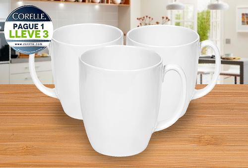 Mugs Corelle  Paga 1 Lleva 3