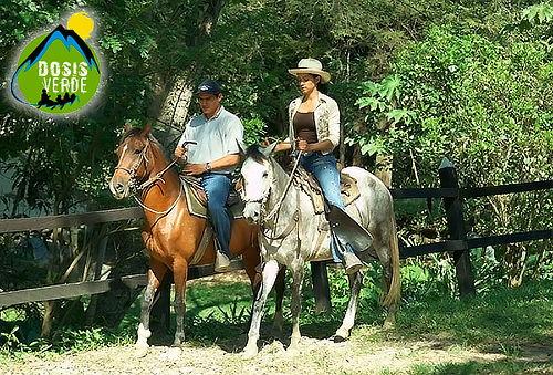 Dia extremo con rapel al vacio + cabalgata en Útica