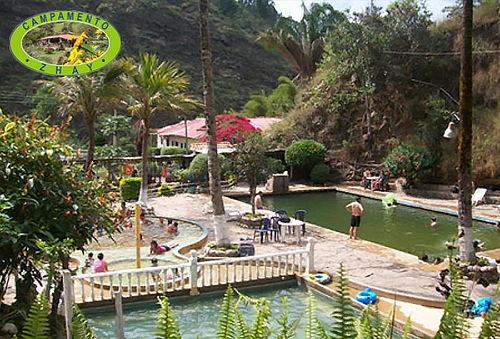 Turco + Piscina + Termales + Camping para Dos