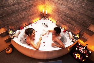 Relajación Erótica en Pareja+Jacuzzi+Masaje 3 Hrs 84%