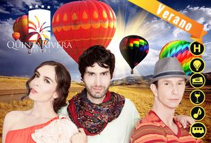 Concierto Sasha, Benny y Erik + Vuelo en Globo + Hotel 4*
