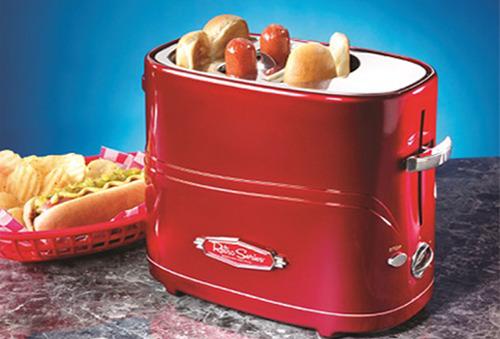 Tostadora de Hot Dog Vintage ¡Práctica y rápida!