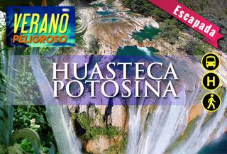 Huasteca de Ensueño, Hotel 4* + Recorridos + Bus