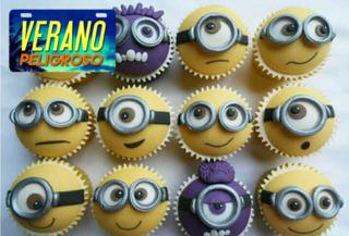 Curso Presencial de Cupcakes Especial Minions