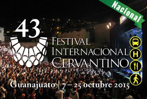 """Cervantino """"Pre-compra"""" ¡Un evento artístico-cultural!"""