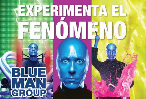 BLUE MAN GROUP ¡Experimenta el Fenómeno de las VEGAS 29 Nov!
