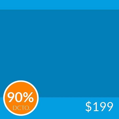 Levantamiento de glúteos en 4 sesiones 90%