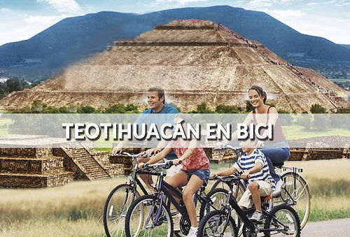 ¡Tour en Bici, elige sin o con Transporte desde CDMX !