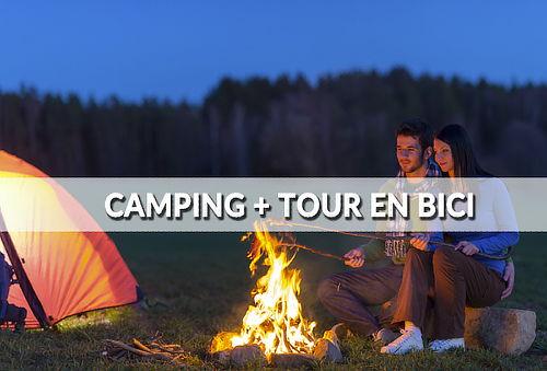 ¡Camping + Tour en Bici, una opción mas el Fin de Semana!