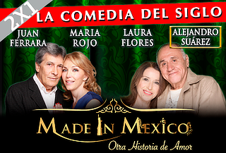 2x1 en Made in México Ganadora Mejor Obra 54%