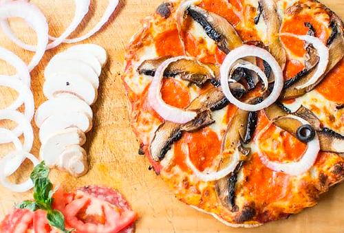 Arma tu Pizza Gourmet para 2 o 4 en Brulé, Mercado Moliére