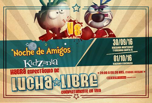 KidZania ¡Noche de Amigos! + LUCHA LIBRE en Vivo 32%
