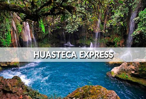 ¡Huasteca Express 2Días/1Noche, Salto en Cascadas Tamasopo!