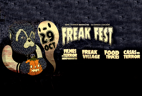 FREAK FEST ¡Festival de Terror CDMX 2da edición! 47%