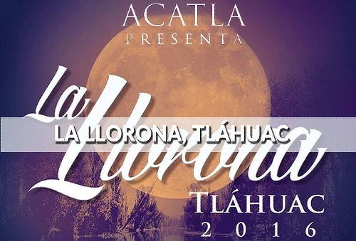 ¡Espectáculo de La Llorona! en Lago de los Reyes Aztecas
