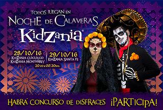 ÚLTIMOS DÍAS KidZania Todos Juegan en ¡NOCHE DE CALAVERAS!