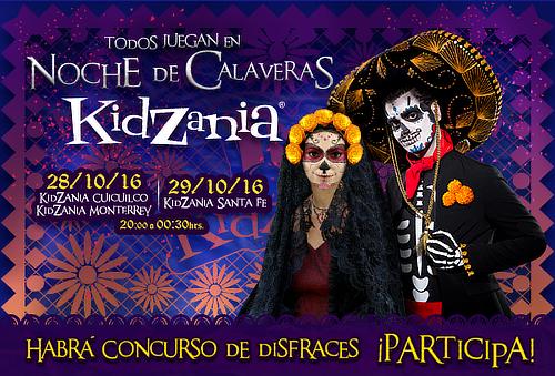 KidZania Todos Juegan en ¡NOCHE DE CALAVERAS!