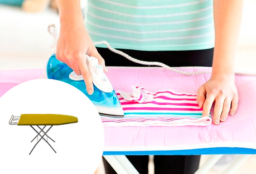 Tabla para planchar clásica ¡Tu ropa siempre como nueva!