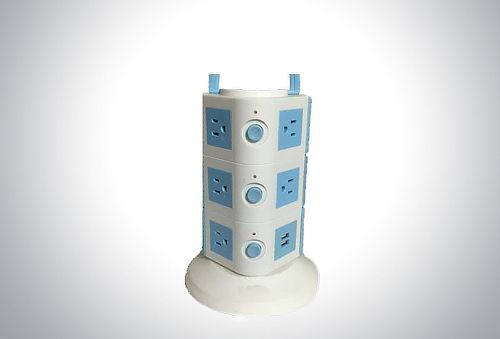 Multicargador con forma de torre ¡Conéctate!
