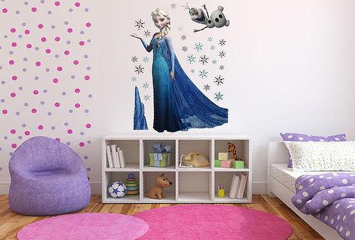 ¡Sticker Frozen, decora su habitación! Elige modelo