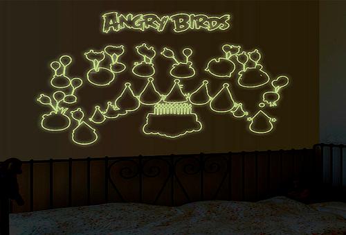 Vinil Fluorescente Angry Birds 57%