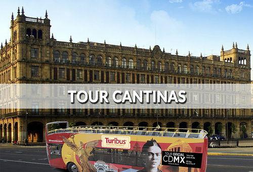 Tour de Cantinas Cd México  ¡La Felicidad hecha Tour!