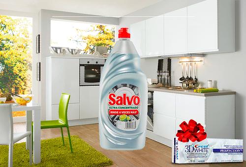 1Salvo líquido ULTRACONCENTRADO LIMÓN 750 ml + Regalo