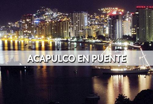 Acapulco ¡Puente Revolución! 3Días/2Noches, incluye Autobus