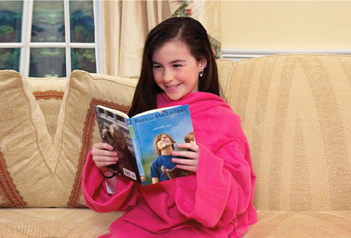 Manta con Mangas Pink para niñas
