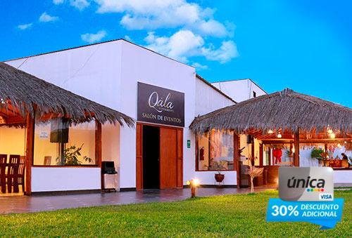 Chincha para 2 ó 3 en Qala Hotel Resort - 40%