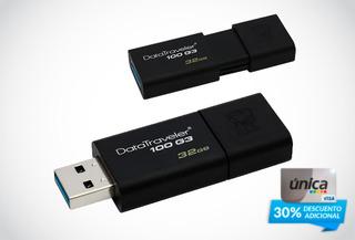 Remate de Memorias USB 3.0 - 32GB Kingston