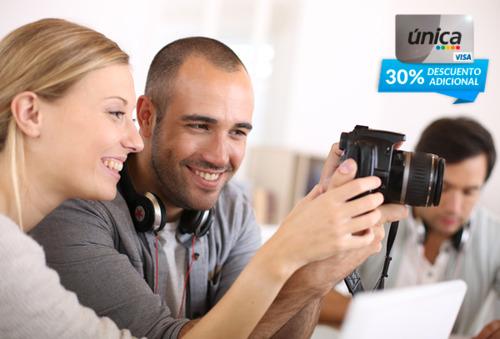 Curso Online de Fotografía + Diploma Acreditado 96%