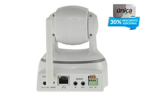 Camara vigilancia ip inalambrica robotica hd cuponatic for Camara vigilancia inalambrica