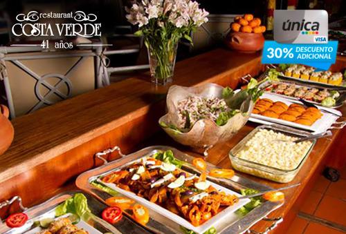 Buffet Restaurante Costa Verde 55%