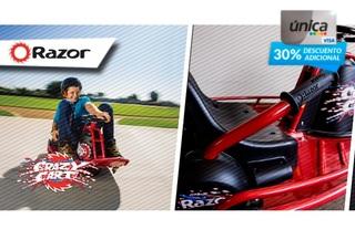 ¡Edición Limitada! Razor® Crazy Cart 25%