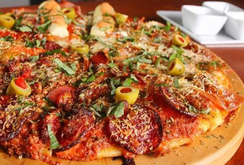 delicia pizza artesanal sangr a y m s para 2 4