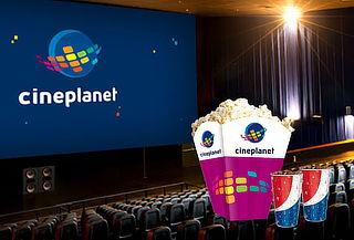 Cineplanet: 02 Entradas + Combo Gigante en Lima